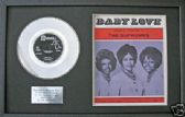 "SUPREMES - 7"" Platinum Disc & songsheet - BABY LOVE"